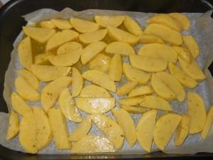 pollo e patate al forno 009