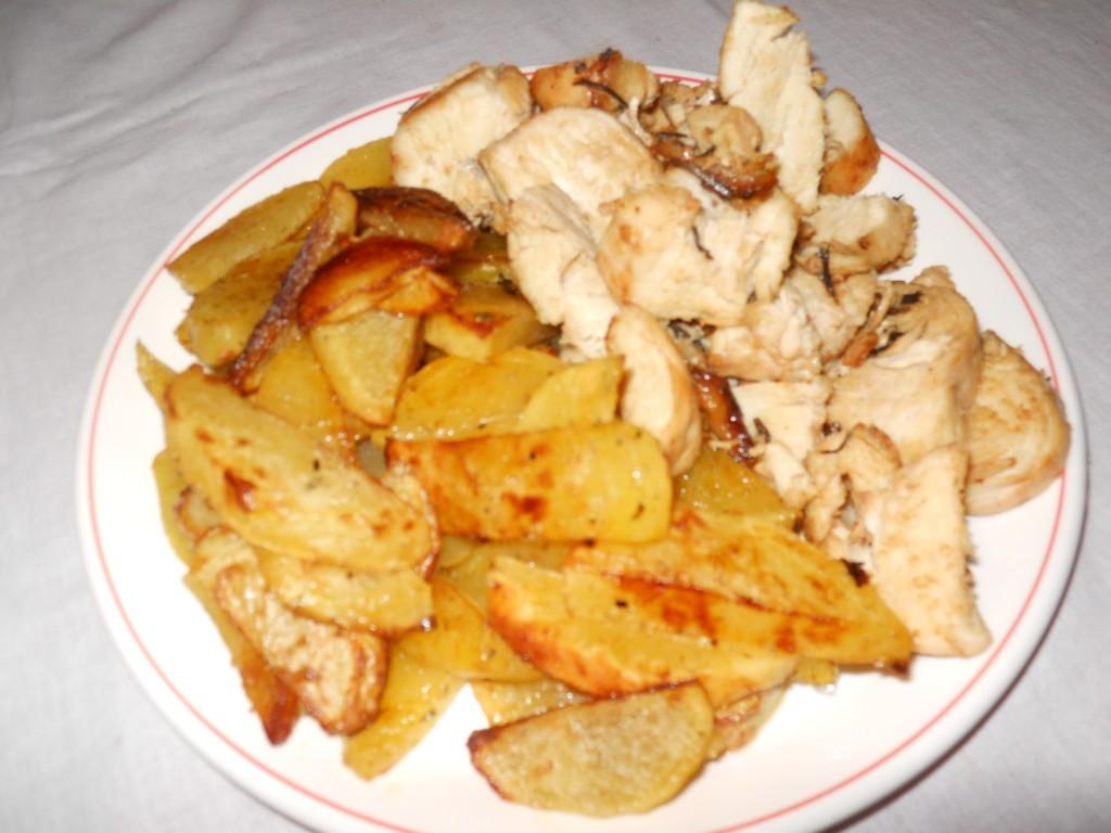pollo e patate al forno 013